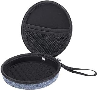 Tragbarer CD Player Etui/Tasche/Box, strapazierfähig, Reiseaufbewahrung, kompatibel mit Hott CD Player 511/611/711/611T Personal Compact Disc Player, CDs, Kopfhörer, USB Kabel und AUX Kabel