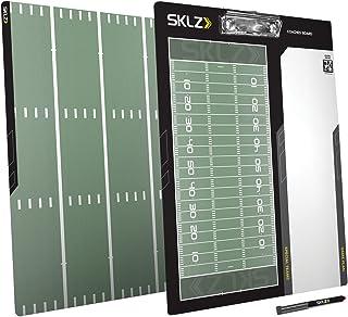 Sklz American Football Coaches Board. Dry-Erase Coaching Tool, Multi Color