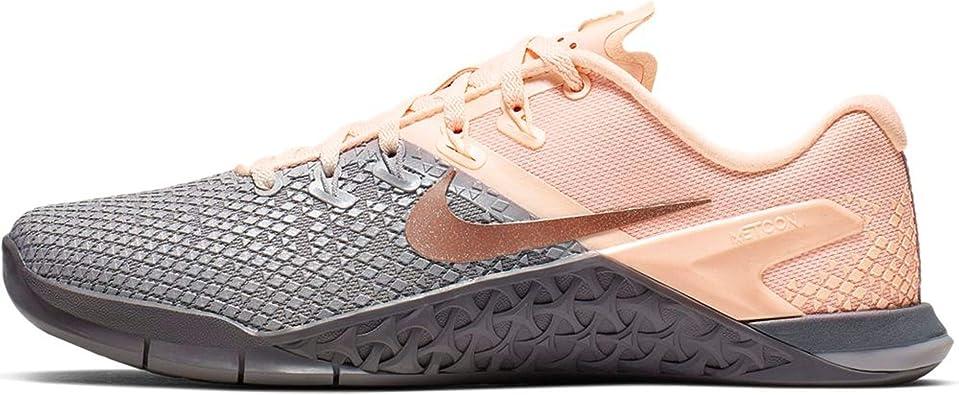Amazon.com   Nike WMNS Metcon 4 XD Metallic AV2252-001 Grey/Red ...