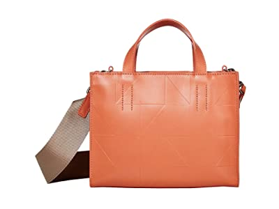 ECCO Signature Line Mini Handbag (Apricot) Handbags