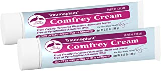 Terry Naturally Traumaplant Comfrey Cream (2 Pack) - 3.53 oz (100 g) - Non-Staining Topical Botanical, Free of Toxic Pyrro...
