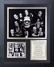 Legends Never Die Horror Classic Movies Framed Photo Collage, 11 x 14 (16482U)