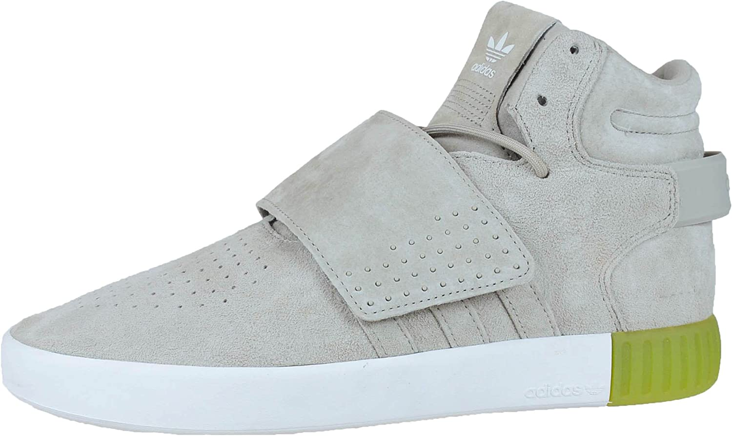 Amazon.com   adidas Mens Tubular Invader Strap High Sneakers Shoes ...