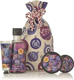 The Body Shop Festive Sack Of Rich Plum Delights, 4 Pc, 12.85 Fl Oz