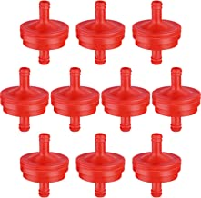 10 Pieces 298090 394358 Fuel Filters for 1/4 Inches Fuel Line 150 um Replace for Briggs Stratton 298090S 394358S 4105 5018B 5018H 5018K for John Deere AM107314 PT4265 LG298090S LG298090