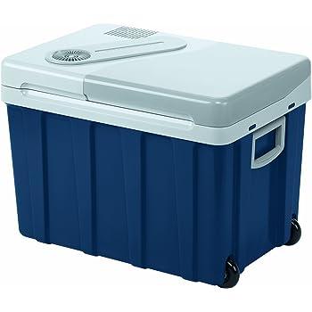 MOBICOOL W40ACDC Glacière électrique portable équipée de roulettes , 39L, 12-24V/230V, 18°C en dessous de la température ambiante, p380xh420xl560mm, Norme FR, [Classe énergétique A++]