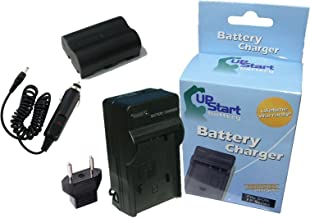 Replacement for Konica Minolta DiMAGE A2 Battery and Charger with Car Plug and EU Adapter - Compatible with Konica Minolta NP-400 Digital Camera Batteries and Chargers (1600mAh 7.4V Lithium-Ion)