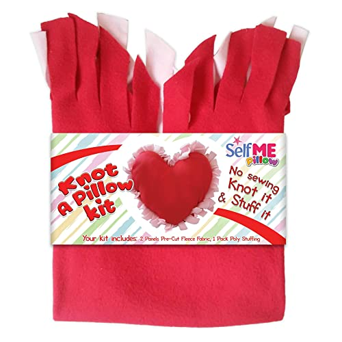 DADM Heart Pillow Craft Kit, DIY Crafts Kits for Kids and Adults, Girls and