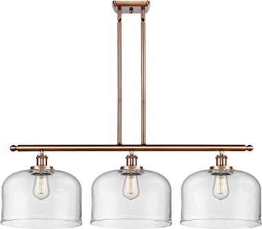 INNOVATIONS LIGHTING 916-3I-AC-G72-L X-Large Bell 3 Light Island Light Part of The Ballston Collection