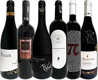 濃厚赤ワイン好き必見 大満足のフルボディ6本セット
