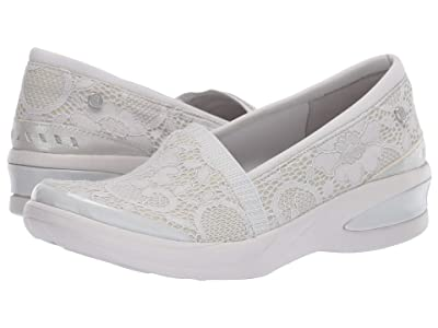 Bzees Flirty (Light Grey Floral Lace) Women