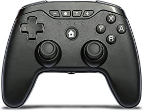 $38 » DAWN&ROSE Wireless Controller with Dual Shock Touch Panel Audio Jack Six-axis for PS2/PS3/PS4/PC Bluetooth Gamepad