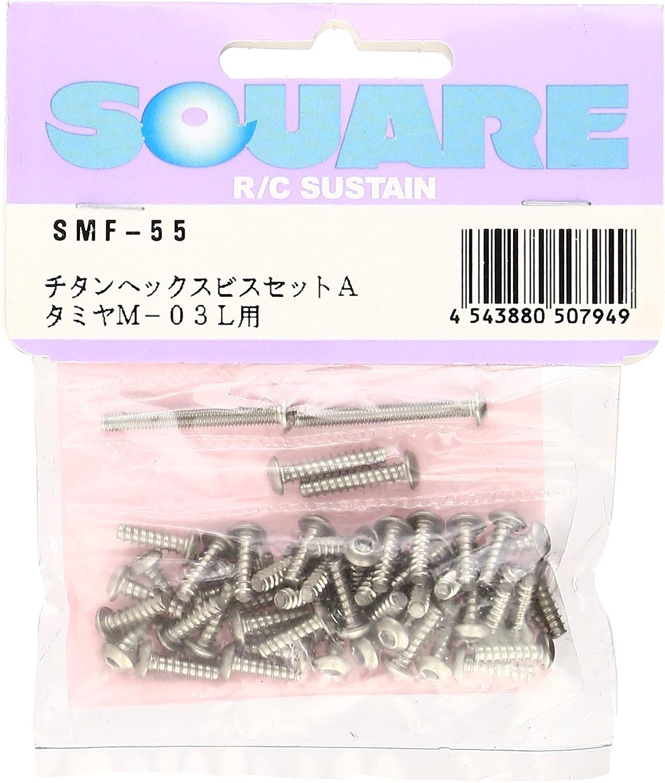 Titanium Hex Screw Set A (für Tamiya M03L) in der Regel Schrauben & TP gesetzt SMF-55