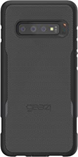 Gear4 Platoon Cell Phone Case with Holster with Advanced Impact Protection [ Protected by D3O ], Tough, Ultra-Durable Design for Samsung Galaxy S10 Plus - Black