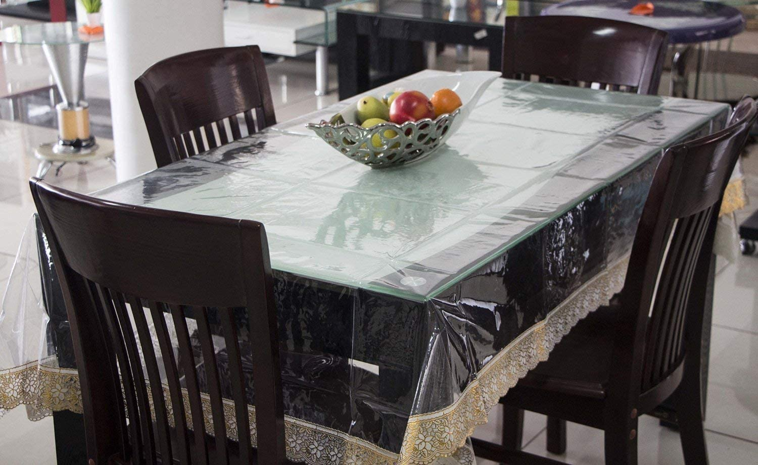 M'Sung Heat Resistant Easy Denver Mall Clean C Tablecloth Plastic Sale Special Price Waterproof