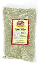 Spicy World Whole Fennel Seeds 5 Pound Bulk - All Natural (Green Saunf)