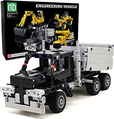 wholesale Nickbuild wholesale Tipper Truck MOC Building Blocks Sets, Construction Engineering Vehicle Changeable Educational Build Brick Toys, Gift for online sale Kids and Teens(322 PCS) online sale