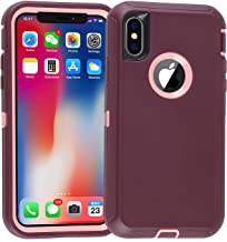 iPhone 10 Case,iPhone Xs Case,Drop Proof Heavy Duty Soft TPU+ Hard PC Hybrid Truly Shockproof Armor Tough Protective for iPhone X(2017),XS (2018)