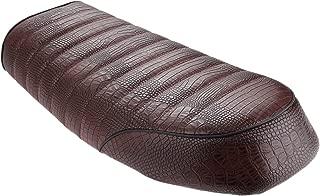 crocodile skin motorcycle seats