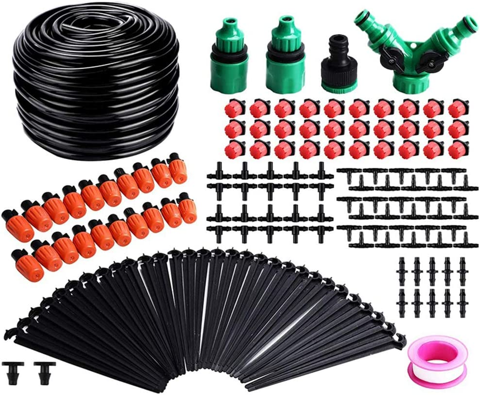 Garden Irrigation System 100ft 30M Drip Max 79% OFF Outstanding Micro DI Kit