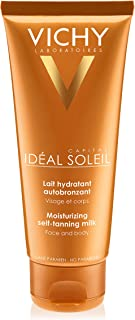 Vichy Capital Idéal Soleil Moisturizing Self Tanner Milk, 3.38 Fl Oz