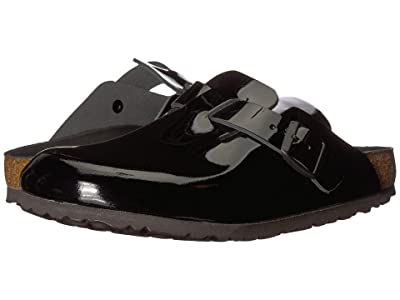 Birkenstock Boston Hex (Black Patent Leather) Women
