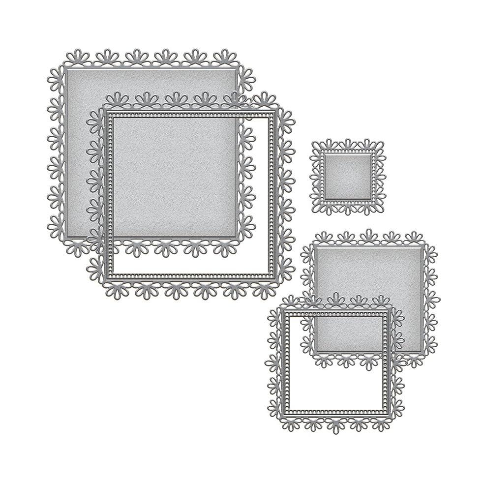 Spellbinders S6-027 Nestabilities Triple Floral Etched/Wafer Thin Dies