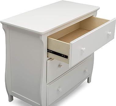 Delta Children Lancaster 3 Drawer Dresser with Changing Top
