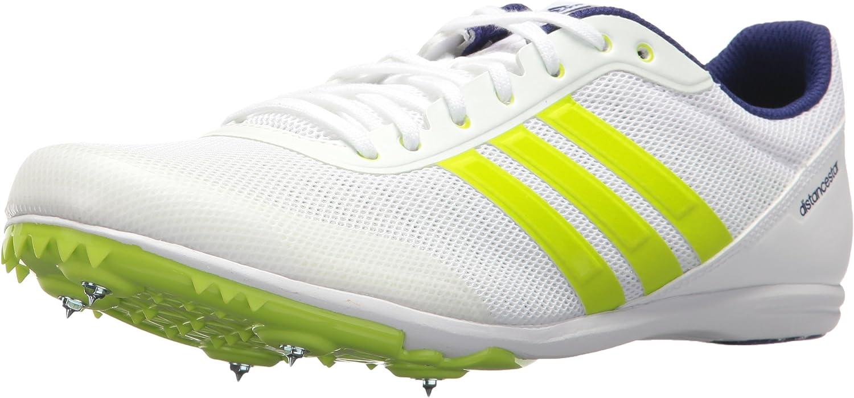 Adidas- - Distancestar Herren, Weiá (Weiß Zero Metallic Slime), 42 EU D(M) B0728B63M2 Sehr gute Farbe