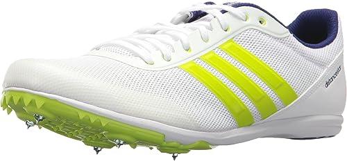 Adidas Performance Hommes's Distancestar, blanc Zero Metallic Metallic Slime, 6.5 M US  promotions discount