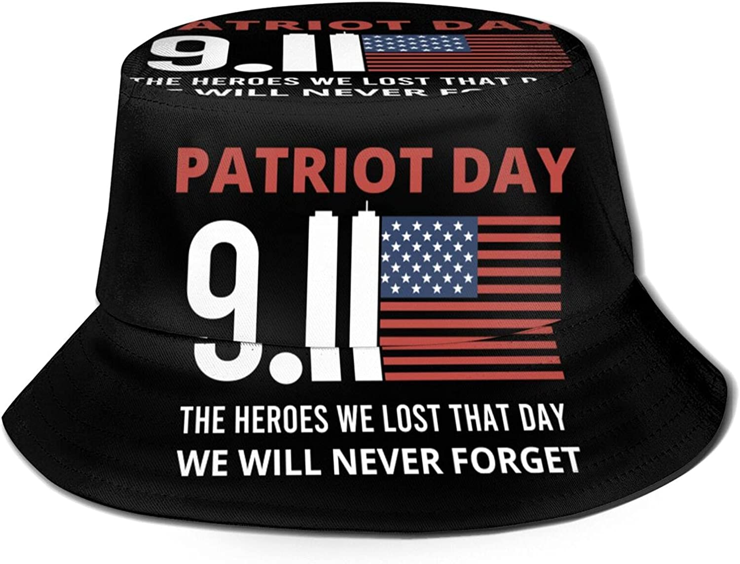 We Will Max 66% OFF Never Forget The Heroes Day Bucket Spasm price Hat That 9.11 Lost
