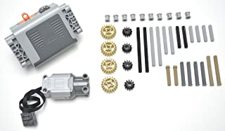 LEGO Technic 40 Piece Specialty lot, Power Functions Battery Box, L Motor, Mindstorms, NXT, EV3