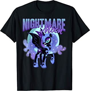 Princess Luna Nightmare Moon 1.5 inch circle pendant chain MLP My Little Pony Friendship is Magic FiM unicorn alicorn pegasus evil curse