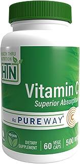 Vitamin C 500mg, 60 Veggie Caps by Health Thru Nutrition