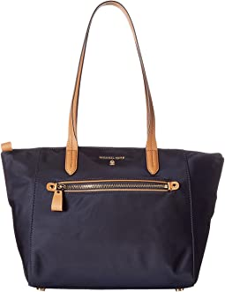 790e167e83 68. MICHAEL Michael Kors. Nylon Kelsey Medium Top Zip Tote