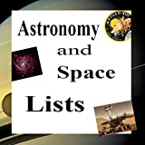 Science Lists - ASTRONOMY and SPACE