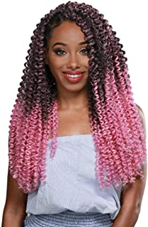 ZURY SYNTHETIC 3X PRE STRETCHED CROCHET BRAID - WATER WAVE 20 INCH (SOM 27/30)