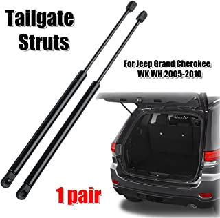 2pcs Rear Tailgate Boot Gas Struts Support For Jeep Grand Cherokee WK WH 2005-2010 68025359AA 55394322AA