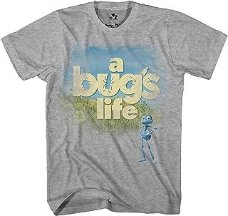 Disney Pixar A Bug's Life Cover Classic Retro Vintage Movie Disneyland World Tee Funny Humor Men's Graphic T-Shirt