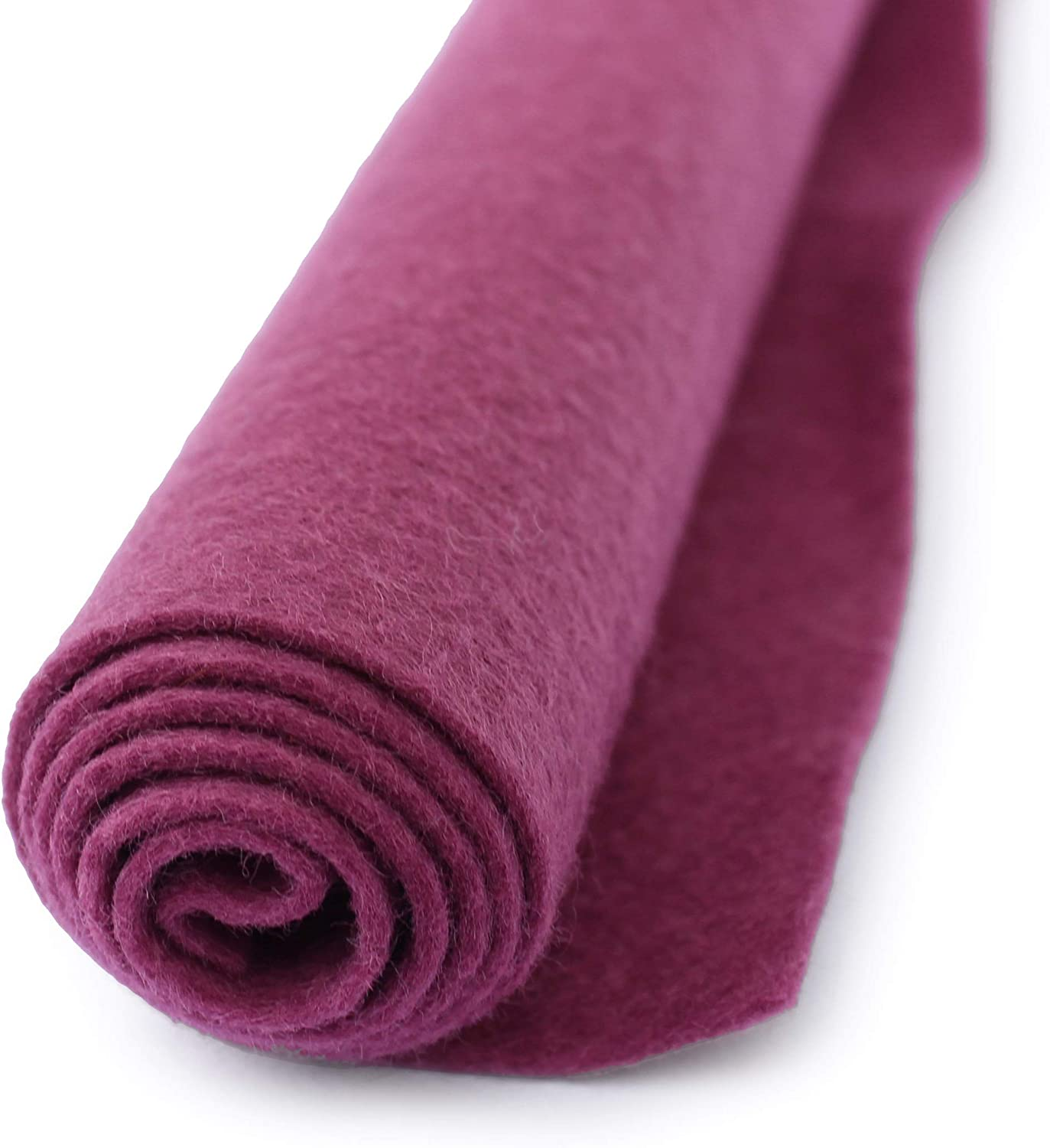 National Nonwovens Wool Felt By the Sheet 12 x 18 Pink Violet