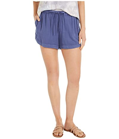RVCA New Yume Shorts (Blue Indigo) Women