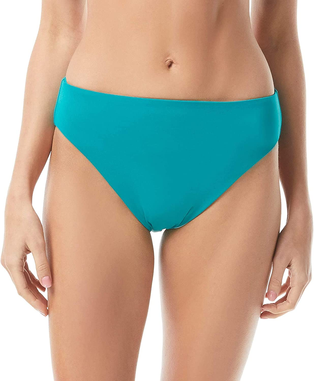Vince Camuto San Remo Shades Reversible High Leg Bikini Bottoms