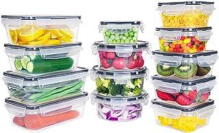 GoMaihe Récipient Boîte Alimentaire 26 pièce (13 récipient, 13 Couvercle), Plastique Boites Hermetiques avec Couvercles ét...