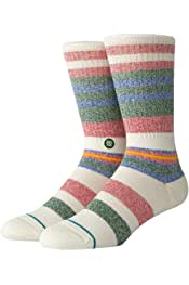 Stance Sssteven Classic Medium Cushion Poly Calcetines Hombre Blanco