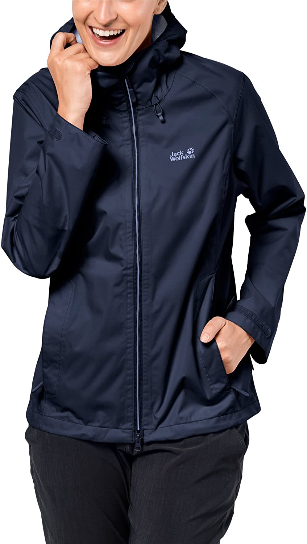 Jack Wolfskin Women's Arroyo Jacket, XLarge, Midnight bluee