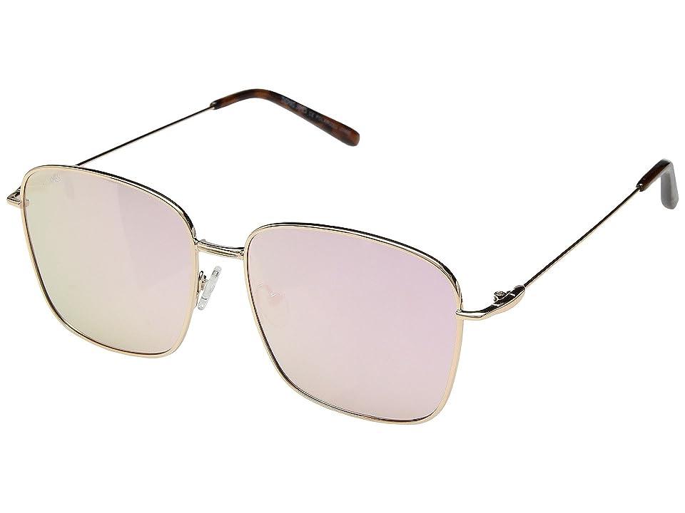 Retro Sunglasses | Vintage Glasses | New Vintage Eyeglasses THOMAS JAMES LA by PERVERSE Sunglasses Emerson Rose GoldPink Flash Lens Fashion Sunglasses $45.00 AT vintagedancer.com