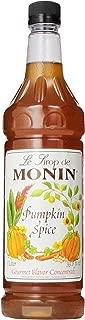 Monin Pumpkin Spice, 48-Ounce Packages (Pack of 4)