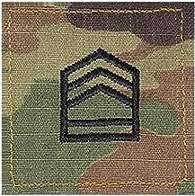 Army SFC ROTC Cadet Rank OCP Scorpion with HOOK Fastener-SERGEANT FIRST CLASS