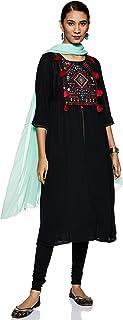 Aurelia Women's Pleated Salwar Suit Set