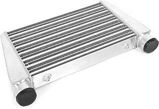 Intercooler Turbo Aramox, Intercooler Turbo de montagem frontal 18,1 x 11 x 3 pol. Estrutura da placa de barra Acessório u...